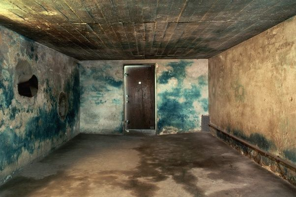 Are there any surviving original gas chambers from the ...