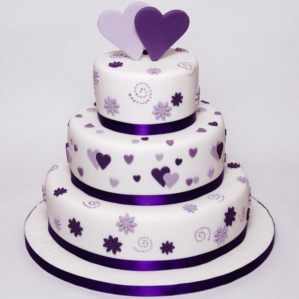 Wedding Cakes Inspired By China Patterns: What Are The Most Common Cake Flavors Chosen For Wedding