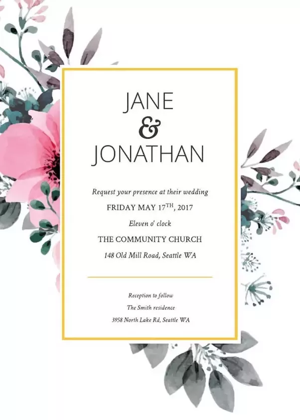 how to custom-make my online wedding invitation