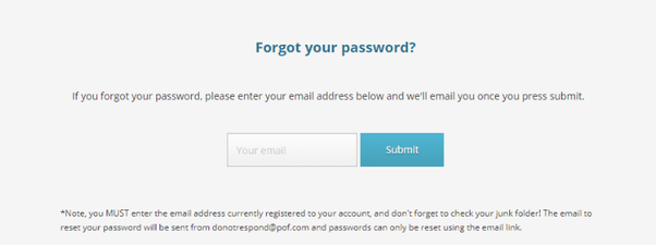 How to restore a POF account - Quora