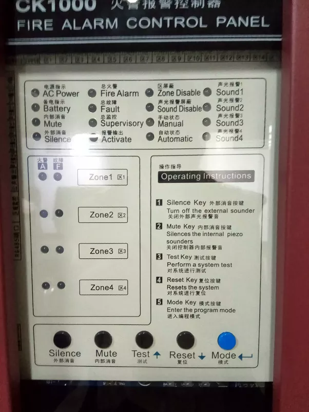 How does a Mimic panel fire alarm system function? - Quora