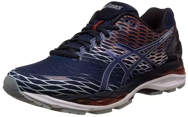 After 18 years of innovation, the Nimbus series continues as one of ASICS  most recognized high performing footwear. The new GEL placement offers  modernized ...