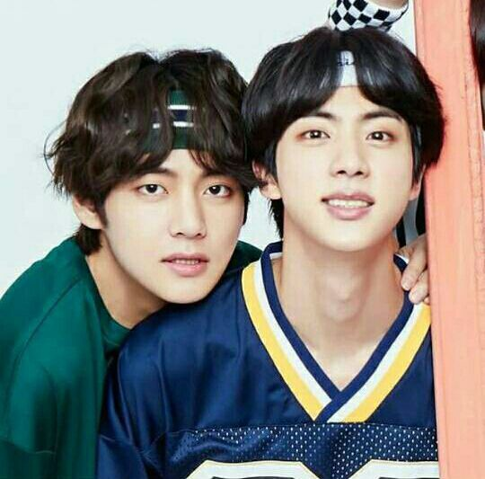 Are Kim Taehyung V And Kim Seokjin Jin Related Since They Re Both Part Of The Gwangsan Kim Clan Quora