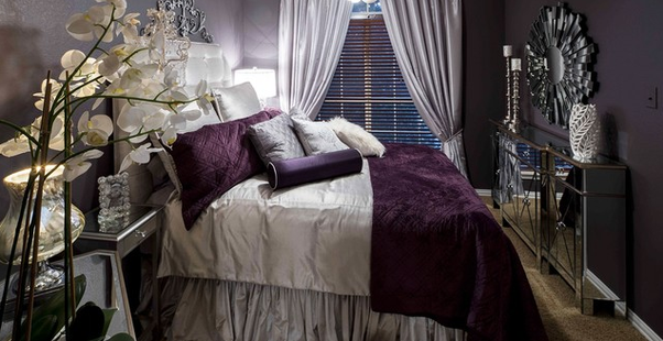 Old Hollywood Style Furniture. Orchids Look Stunning In Old Hollywood Glam  Bedrooms. Also,