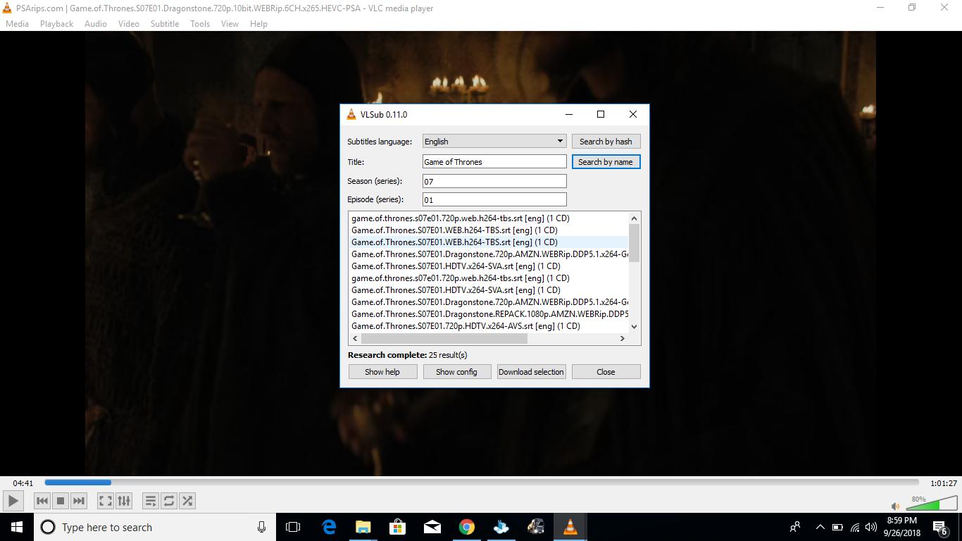 Game Of Thrones Season 7 Episode 1 Subtitles Hdtv X264