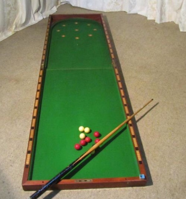 How To Set Up Pool Balls Quora >> What Sport Is Played With A Cue On A Board Or Table 6 To 10