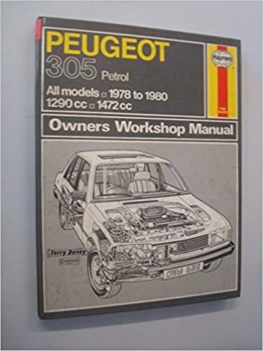 Peugeot 305 car service & repair manuals | ebay.