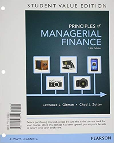 where can i get principles of managerial finance 14th edition test
