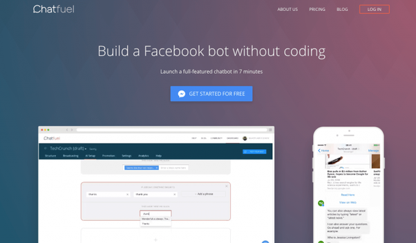 Which bot platform is ideal to build chatbots that support