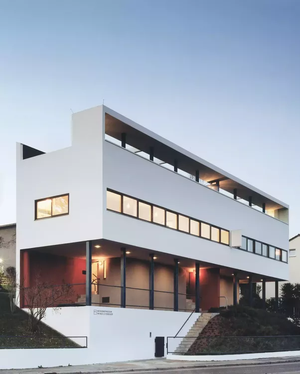 What are some of the most beautiful houses in the world for Villas weissenhofsiedlung