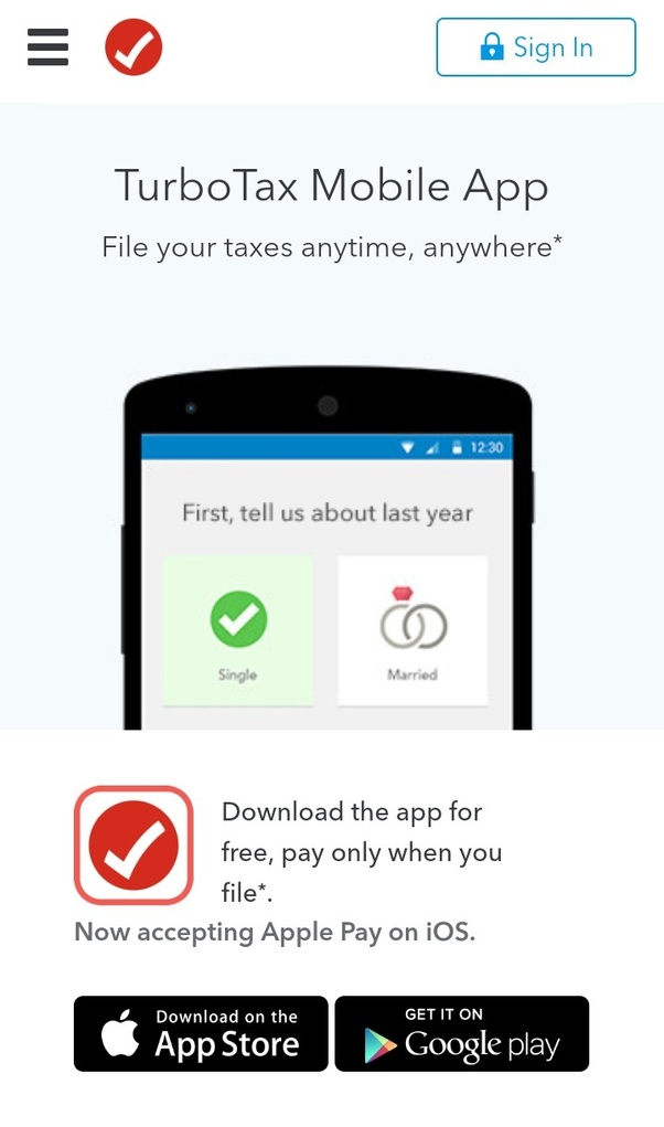 Does TurboTax have an app for filing tax returns? - Quora