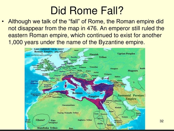 Were the barbarians that sacked Rome at the end of the ...