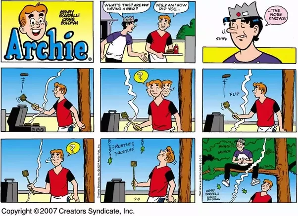 Archie comc strip new porn
