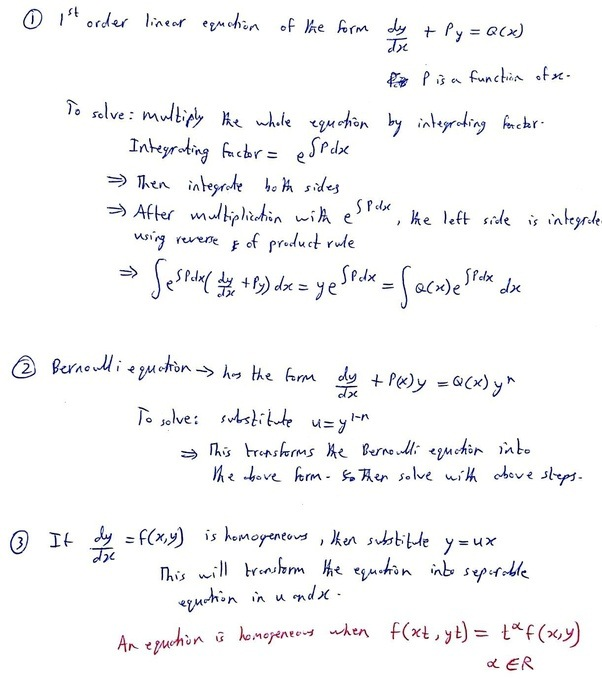 What Is An Inseparable Differential How To Solve Inseparable