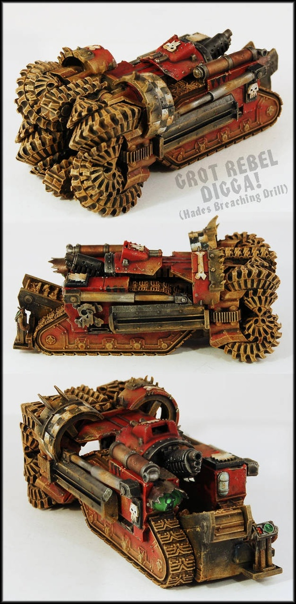 Which race is the most underrated in Warhammer 40k? - Quora