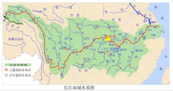 How has the rerouting of rivers into that yangtze contributed to the yangtze river basin almost covers the most densely populated areas in china its estimated that around 400 million people are dwelling there publicscrutiny Image collections