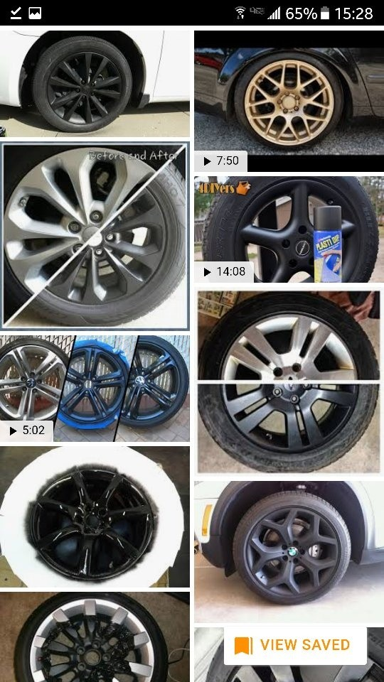 Change The Color Of Your Wheels And When You Are Tired Simply Peel It Off Spray A Different Sell Plastidip Online Or At Hope