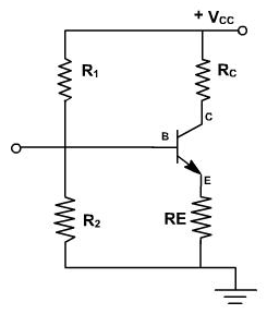 What would be a circuit connection diagram to operate a BC548 (NPN ...