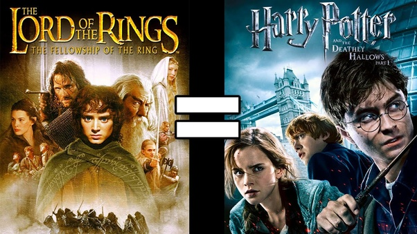 which is better the lord of the rings or harry potter quora