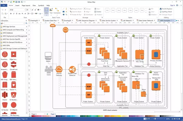 What are some common software tools that network engineers use quora edraw max for drawing diagram many network related shapes and examples are included in edraw max which allows you to finish a network diagram within ccuart Images