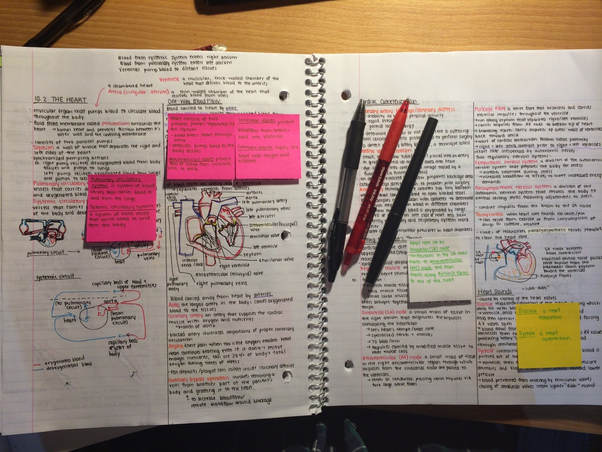 how to make an effective notes
