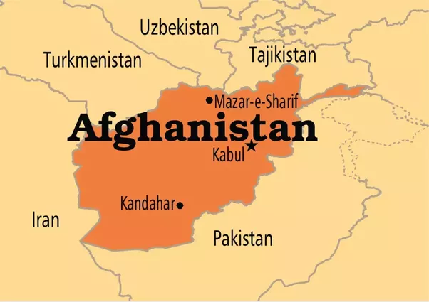Why has afghanistan always been a war torn country quora first see that map of afghanistan gumiabroncs Choice Image