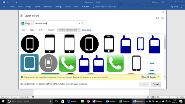 How To Insert The Mobile Phone Symbol In Microsoft Word