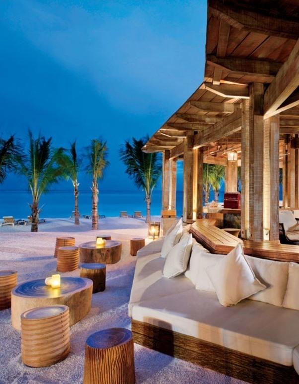 Encircled By Series Of Lofty Peaks Overlooking The Mighty Indian Ocean St Regis Is A Ally Luxe Mauritius Honeymoon Beach Resort