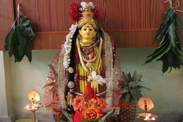 How to make Kalasam for Varalakshmi Vratham - Quora