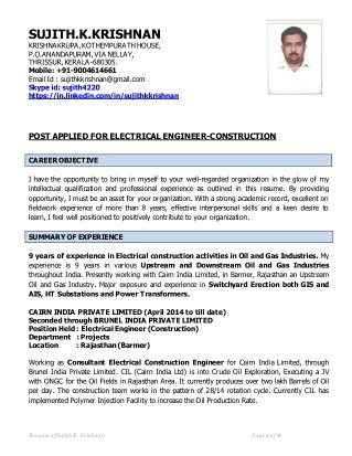 What does an electrical engineer\'s resume look like? - Quora