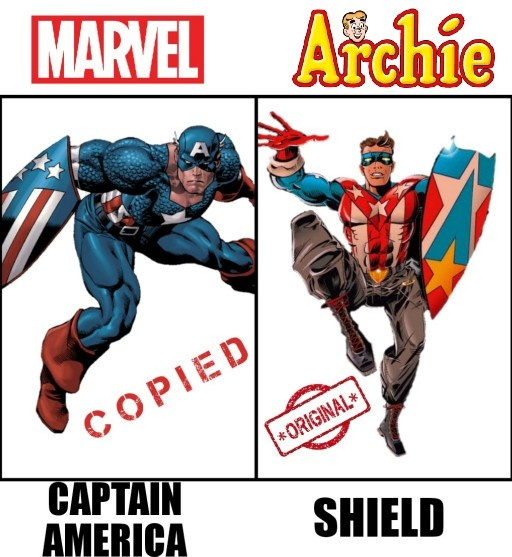 Things marvel stole from dc