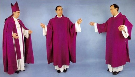 Why does the top brass in the Catholic church dress like ...
