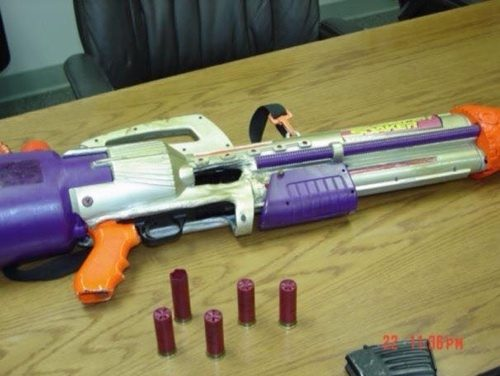 NERF gun modification liquid nitrogen
