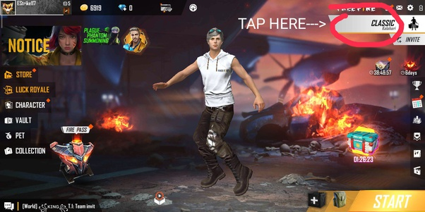 How To Play Rampage 2 0 Mode In Free Fire Quora