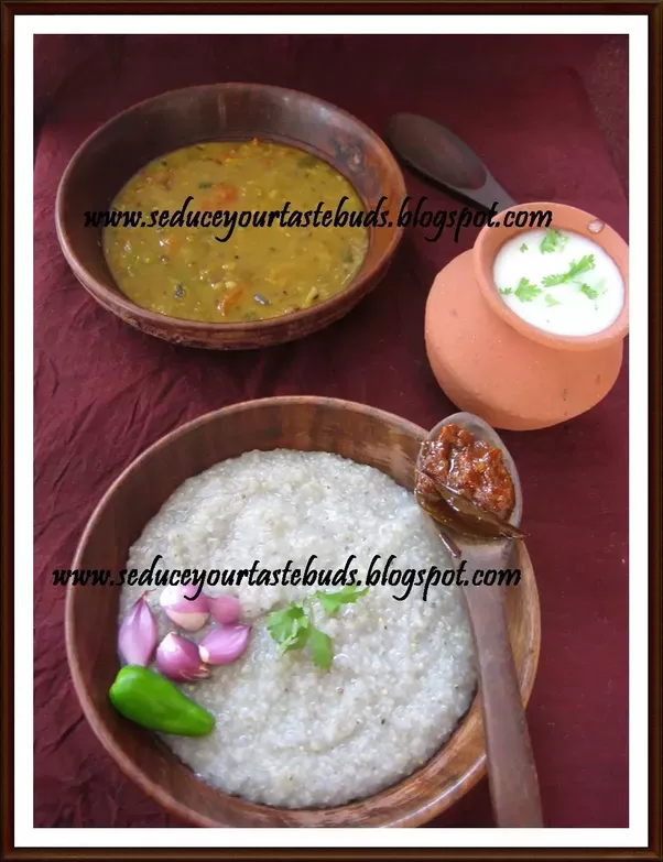 What are some of the old forgotten recipes of indian dishes quora india is the largest producer of bajra wondering how this dish disappeared from our dining table recipe kambu sadham kadalai chutney millet peanut forumfinder Images