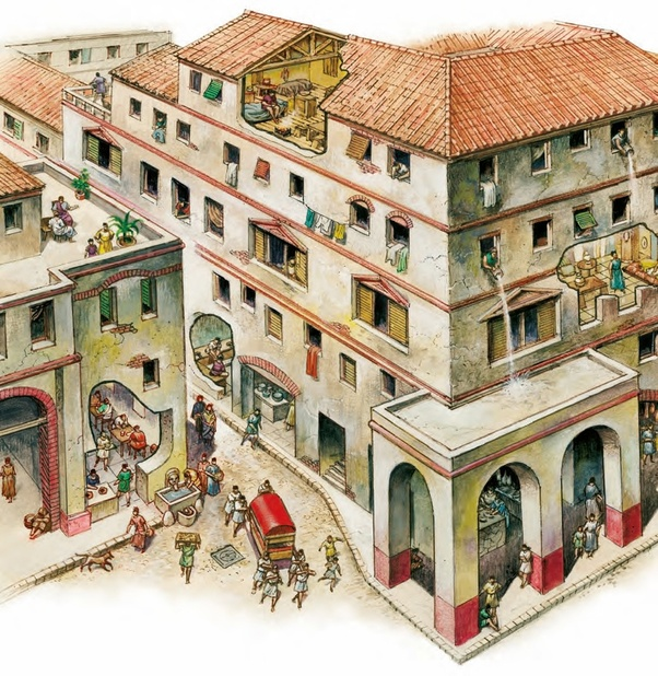 The Flat Apartments: What Did The Average Ancient Roman Apartment Look Like