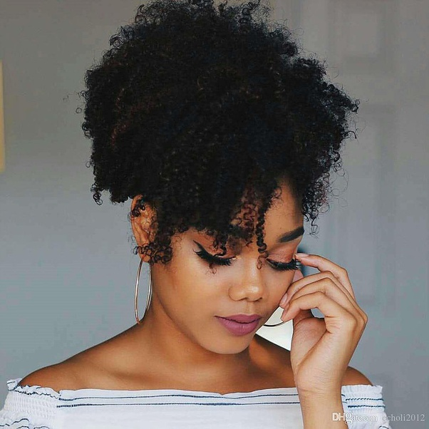 Image result for kinky curly hair styles