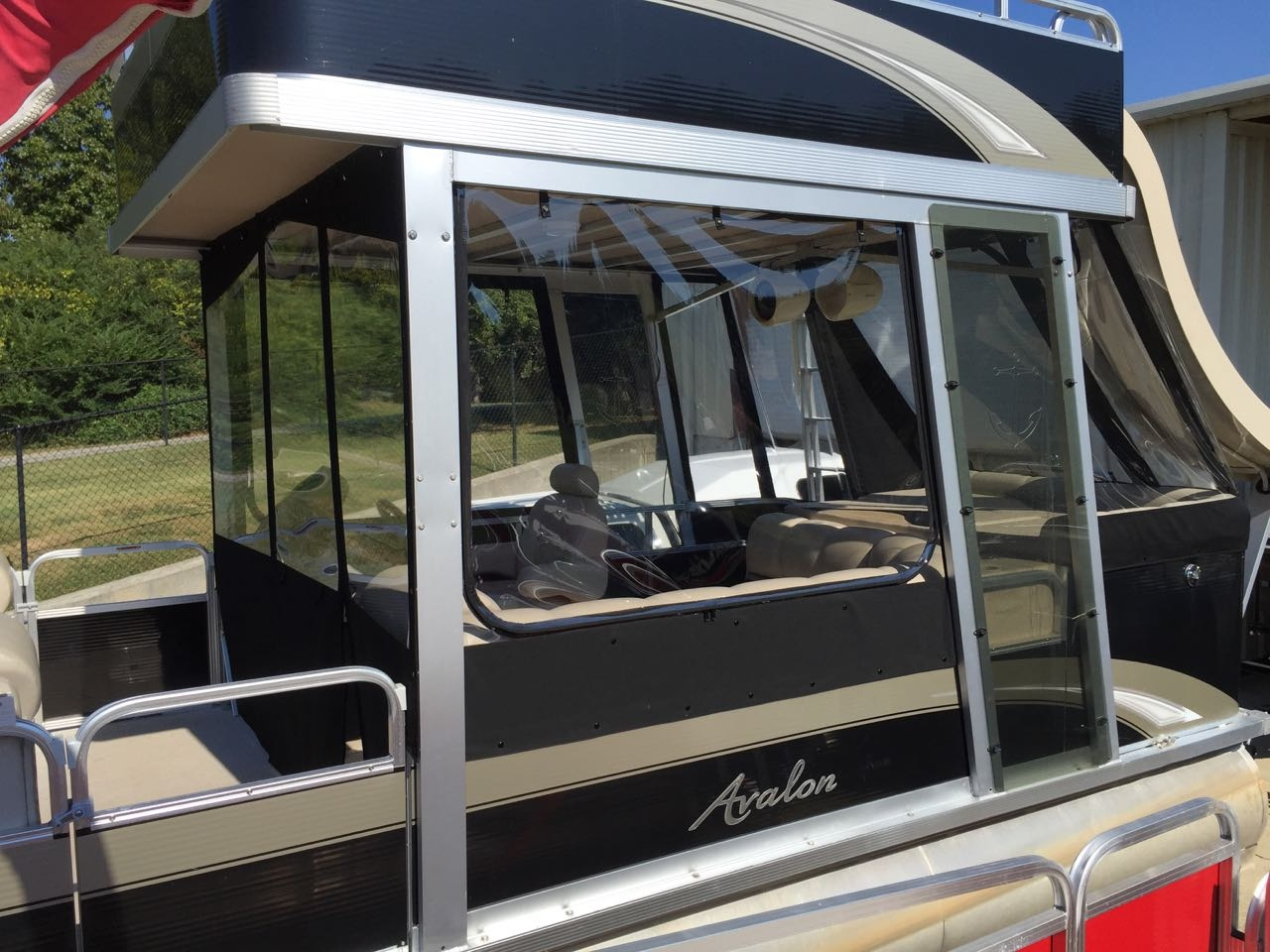 What is a hard enclosure for a pontoon boat? - Quora