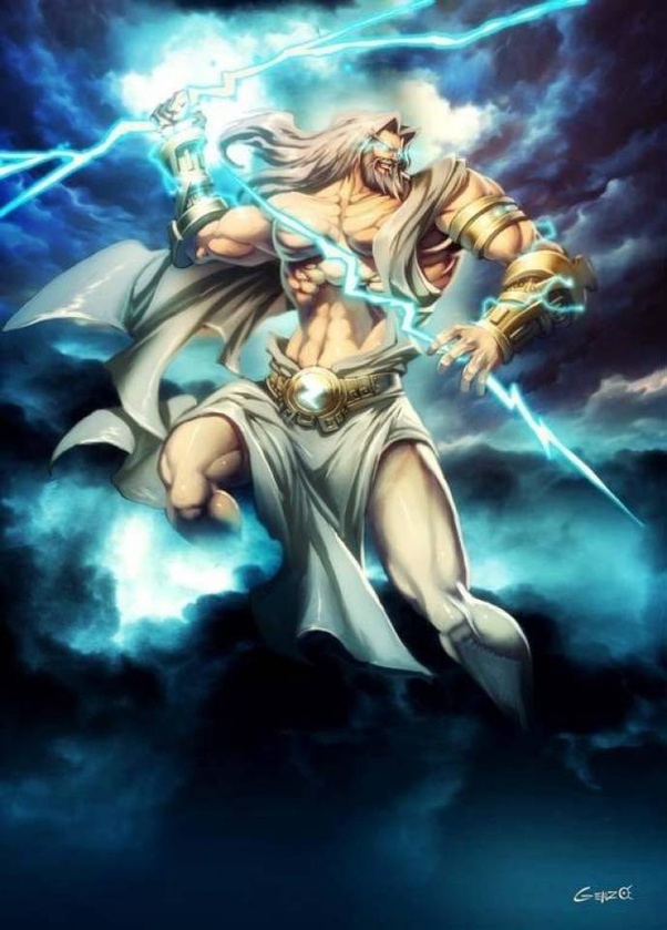 Who Would Win In A Fight Zeus King Of The Gods And Sky Poseidon God Of The Sea Or Hades God Of The Underworld Quora