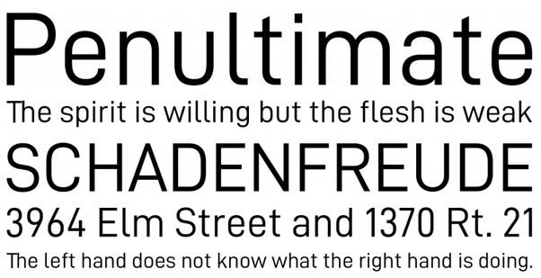 Is there a DIN font free alternative? - Quora
