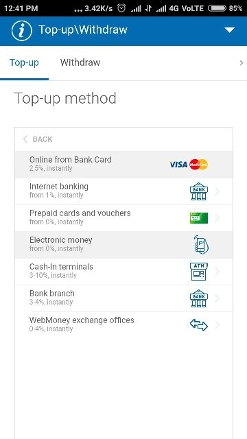 check the screen shot it accepts all major credit and debit cards - Add Money To Prepaid Card With Credit Card