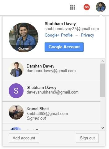 How to login as a different user through Gmail - Quora