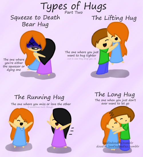 Squeeze hug meaning