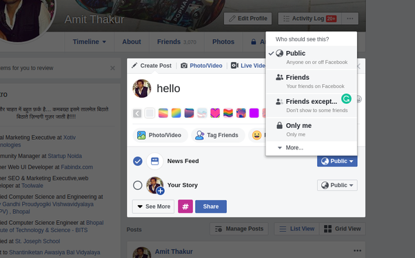 How to remove people's likes from my Facebook posts - Quora