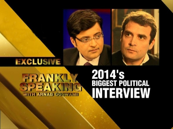 What would be the questions to Rahul Gandhi if Arnab Goswami