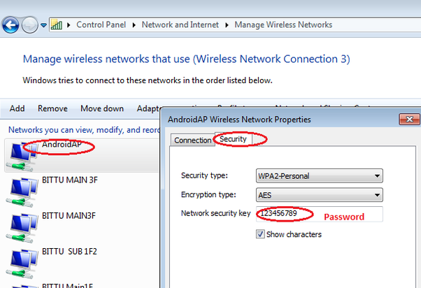 How to know a wifi password if my laptop is connected to it - Quora