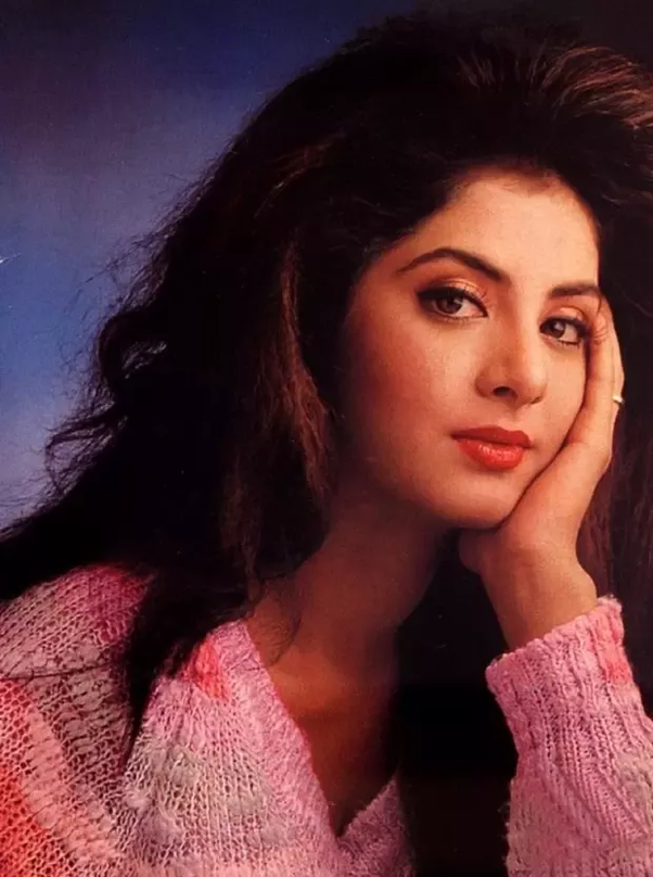 How To Feel About Yesteryear S Bollywood Beauty Divya Bharti Quora