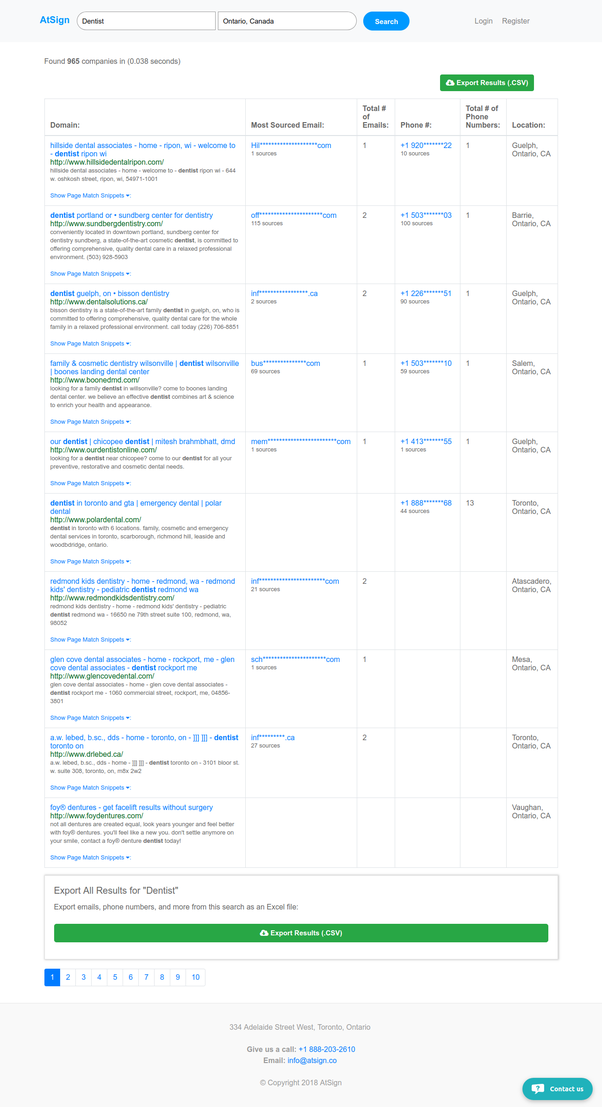 Is there a free tool/bot that can scrape data from Google