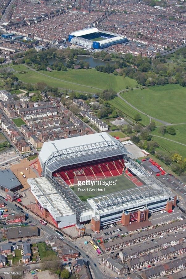 How Close Are Liverpool And Everton S Grounds Quora