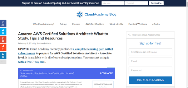 What is the best resource for learning aws quora another great preparation resource for anyone who doesnt know what they should study including studying tips and even resources that they can start fandeluxe Images
